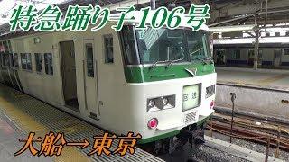 【鉄道旅行】熱海発特急踊り子②(大船~東京)