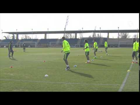 See how our full-backs prepared for Sunday's match!