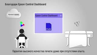 Коротка інструкція по роботі з EMX-профілями у Epson Control Dashboard