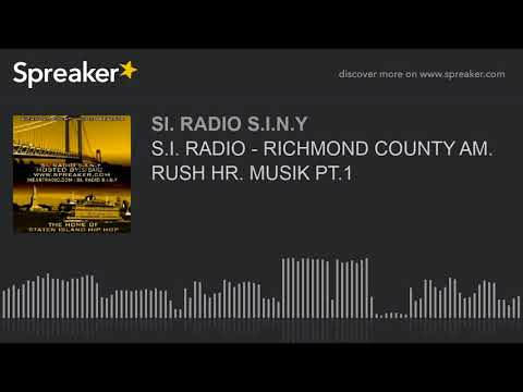 S.I. RADIO - RICHMOND COUNTY AM. RUSH HR. MUSIK PT.1 (part 5 of 6)