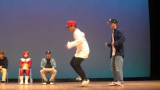 double legs vs BEAT SOLDIER BEST4 FREESTYLE SIDE / RUN UP! × ばとる☆マギカ vol.2