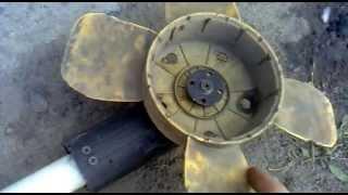 Самодельный электродвигатель для лодки конструктивные особенности.(В принцепе всё в видео описано кроме того что я наварил на вал двигателя небольшую шпильку так как эластичн..., 2013-04-22T14:07:13.000Z)