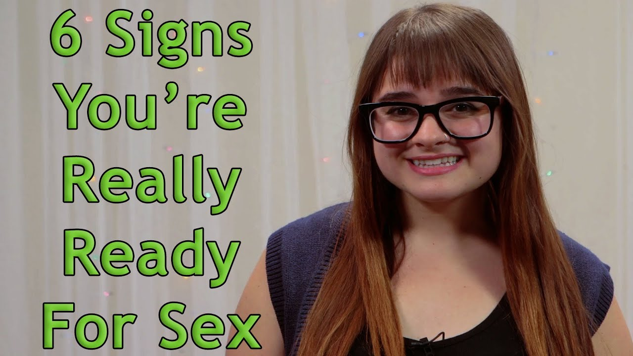 How to know if you re ready for sex
