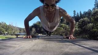 Outdoor Bodyweight Workout in Park