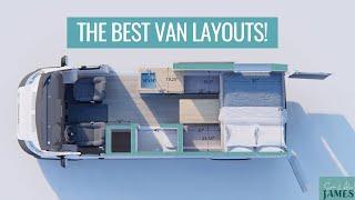 BEST VAN LAYOUTS: how to design your van conversion | VAN LIFE BUILD