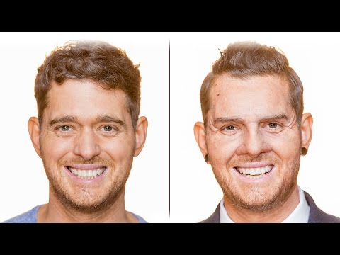 Bublé at the BBC: Michael transforms into sales assistant Dion