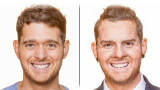 Bublé at the BBC Michael transforms into sales assistant Dion