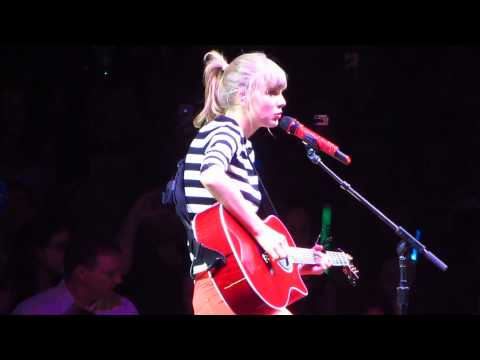 "Taylor Swift ""Never Grow Up"""