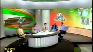Abhishek Singhvi Interview on 30 Apr 2009 By News X Anchor