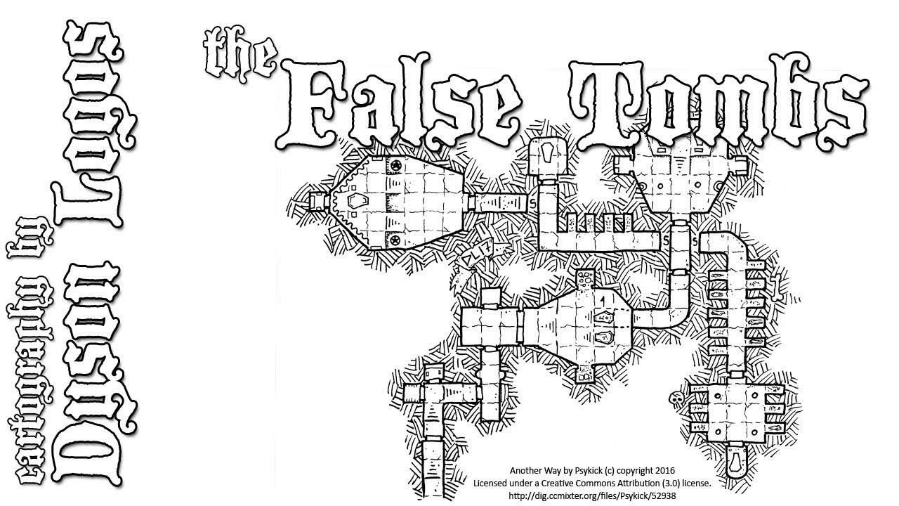 Tomb Map Dd
