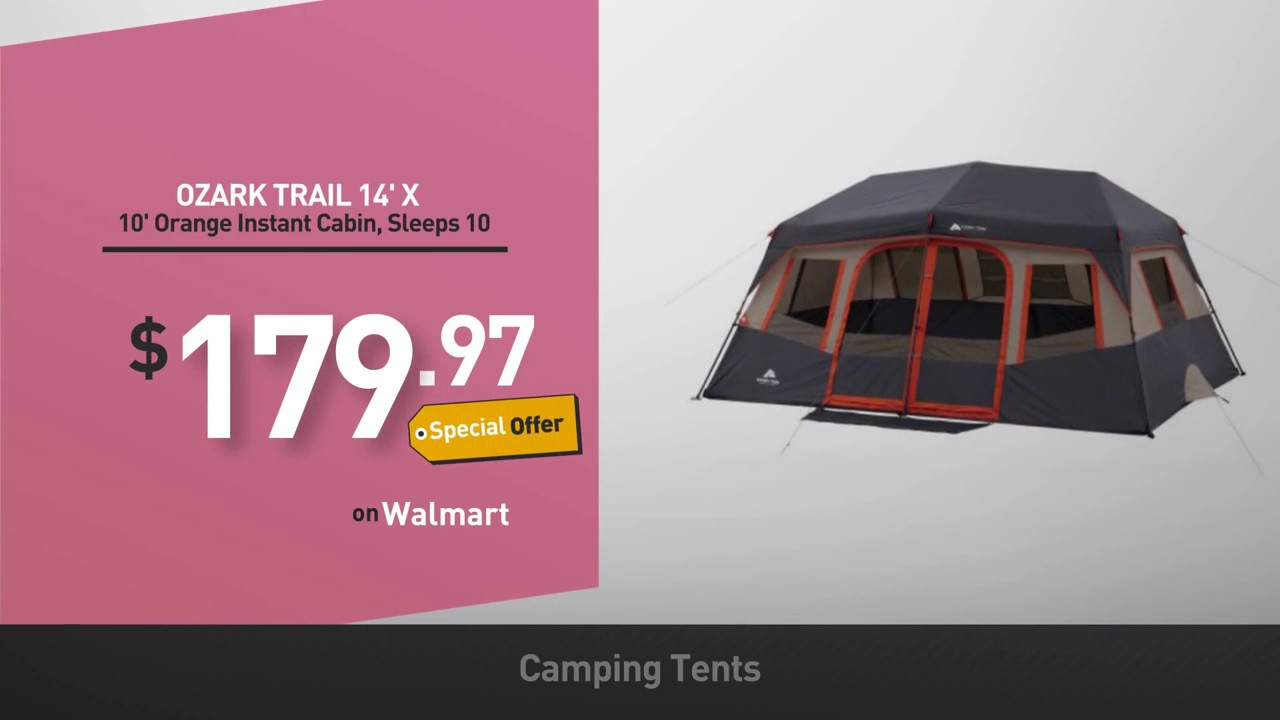 Camping Tents Walmart Best Sellers E G Coleman Sundome 2 Person Dome Tent,  Ozark Trail 7