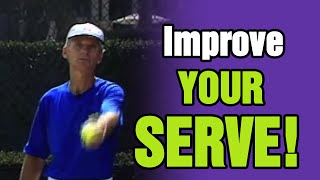 Tennis Serve - Learn To Throw Better To Improve Your Serve