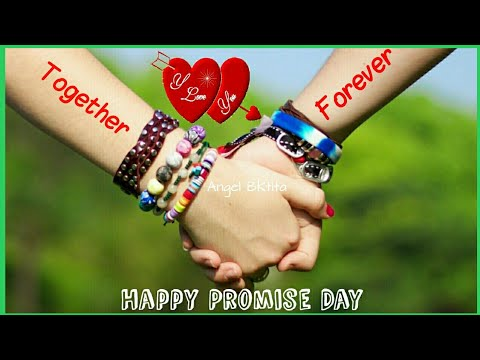 Promise Day Video 2018 WhatsApp  Promise Day SMS  Greetings Wishe Quotes Gif  Promise Day Images 