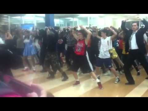 Whitney Young Thriller Dance Halloween Flash Mob 2012
