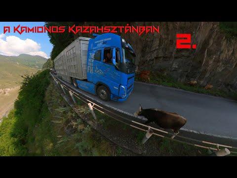 A kamionos Kazahsztánban 2.rész. Az Orosz pálya.