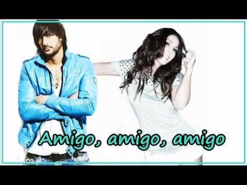 Malú y Melendi - Letra - Amigo - Dual 2012