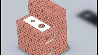 видео Кирпичные печи для дома: чертежи, конструкция