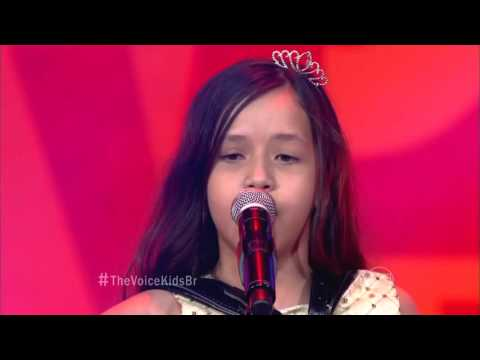 Laís Amaro canta 'Qui nem jiló' no The Voice Kids - Audições|1ª Temporada