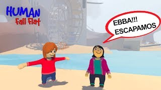 MASSINHAS ESCAPARAM DO CASTELO (Human Fall Flat) | Luluca Games