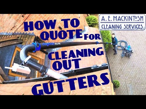 How To Quote For Cleaning Out Gutters