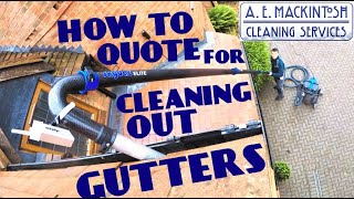 How To Quote F๐r Cleaning Out Gutters