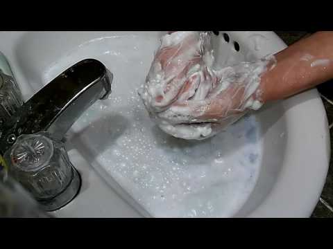 Asmr more mushy soap slivers