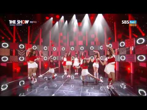 IOI-VERY VERY VERY LIVE @THE SHOW SBS 161018