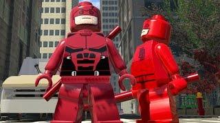 LEGO Marvel Super Heroes EXTRAS #28 - O DEMOLIDOR DA NETFLIX É O MELHOR MOTORISTA (mod)