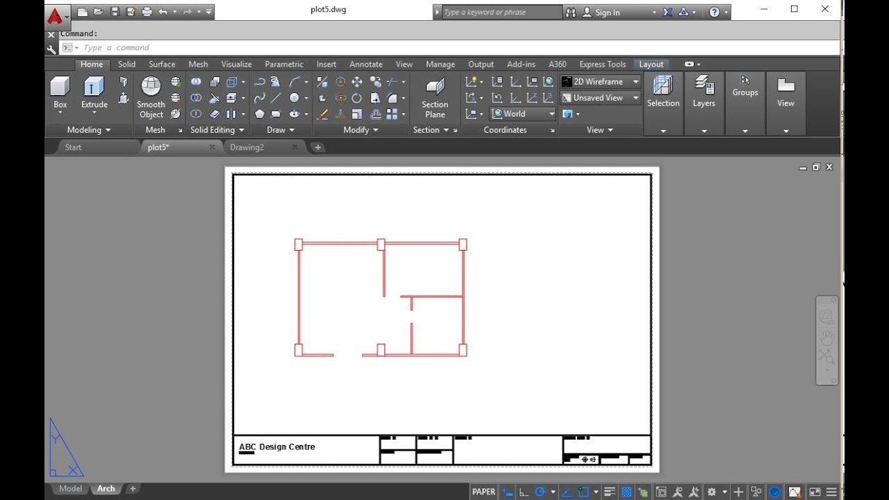 AutoCAD Copy Layout from another drawing - Tutorial