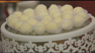 كرات شوكولاتة بيضاء باللوز  | سالي فؤاد