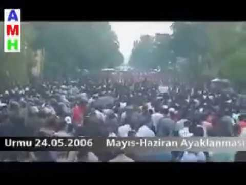 """Ethnic rights protest of Turks in South Azerbaijan, """"Iran"""" (3/3)"""