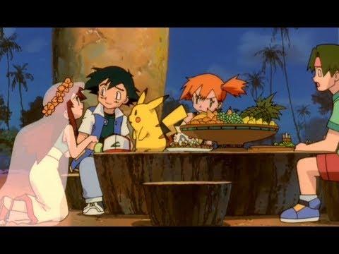 Pokémon - Melody paquera Ash (Misty ciumenta rs)