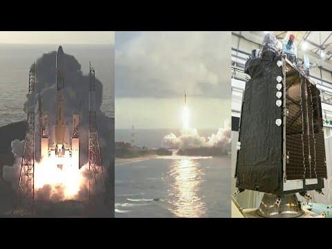 JAXA H-IIA F36 Rocket launches QZS-4 Satellite (Michibiki 4/準天頂衛星 みちびき4号機)