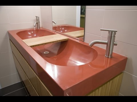Marvelous Trough Bathroom Sink With Two Faucets Design Ideas