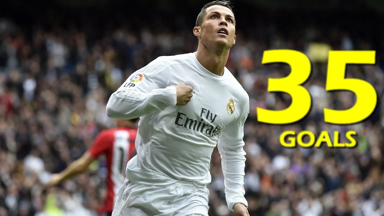 La liga de f tbol profesional laliga is a private non profit sports - Cristiano Ronaldo All 35 Goals La Liga 2016 Hd