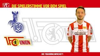 Peter Kurzweg vor dem Spiel gegen Duisburg