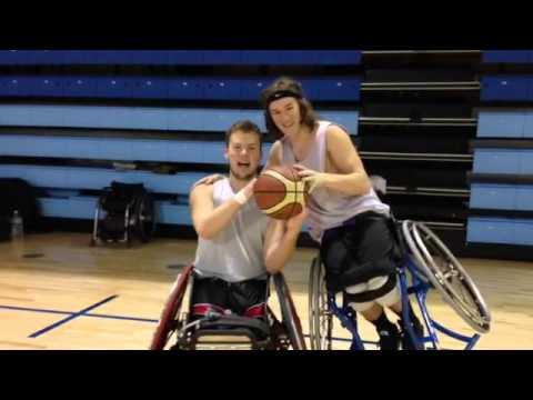 Team Alberta Wheelchair Basketball