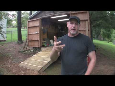 Build a Ramp for a Shed