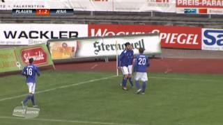 Tino Schmidt-Fussball, 5. Saisontor 2012/2013 Regionalligaspiel VFC Plauen-FC Carl Zeiss Jena