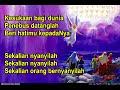 KESUKAAN BAGI DUNIA   Sekalian Orang Nyanyilah   lagu rohani natal