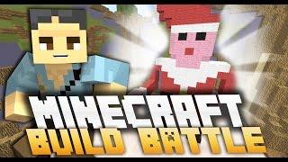 MINECRAFT: BUILD BATTLE - BABBO NATALE NON HA LE BRACCIA!!