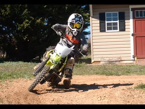 Thumpstar Pit Bike Unboxing First Ride Review