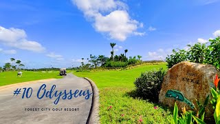 "HOLE 10 ""Odysseus"" from LGK Classic Courses Forest City Golf Resort  再接再厉-森林城市高尔夫经典球场10号洞"