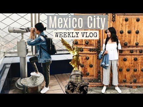 MEXICO CITY Weekly vlog   JessVlogs