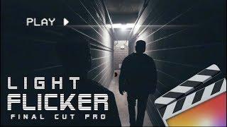 The BEST Light Flicker Effect - FINAL CUT PRO X