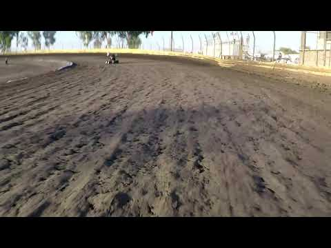 Lemoore Raceway Cal Cup Jr Sprint Hot Laps 10/13/18 GoPro