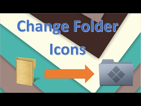 how to change folder icon windows
