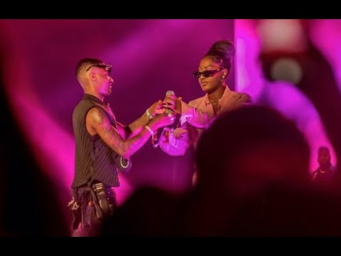 WIZKID Bring Tems On Stage For Their INCREDIBLE Performance At Starboy Fest | ThrowBack