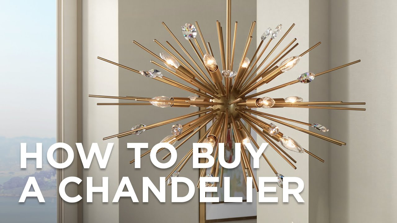 How to Buy a Chandelier - Buying Guide - Lamps Plus - YouTube