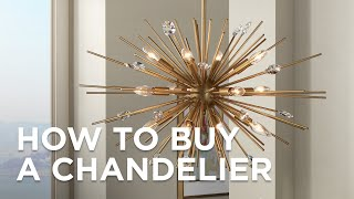How to Buy a Chandelier - Buying Guide - Lamps Plus